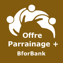 Logo Offre parrainage + BforBank