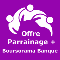 Logo Offre parrainage + Boursorama Banque