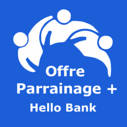 Logo Offre parrainage + Hello Bank